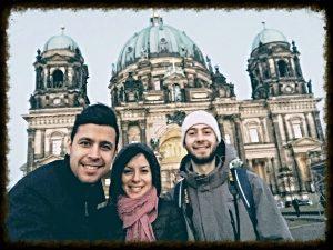 Обиколка на Берлин в деня на концерта на триото в БКИ